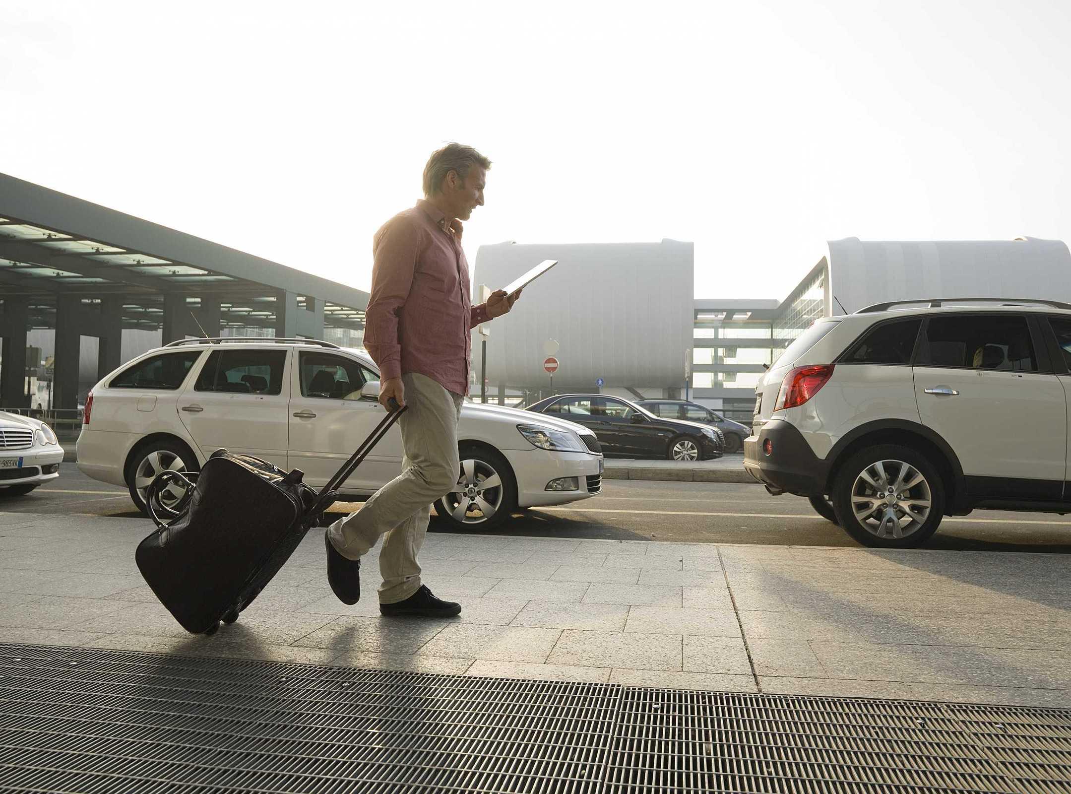 aluguel de carro no aeroporto